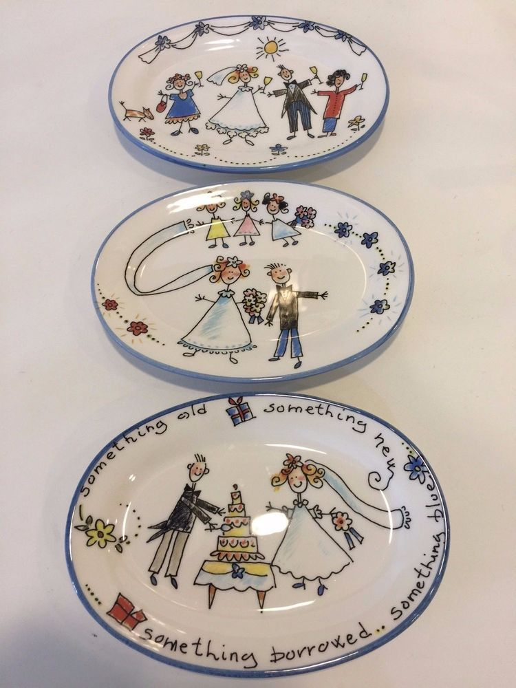 Set of 3 Spose Ceramic Oval Wedding Plates Made in Italy 8\  x  sc 1 st  Pinterest : dinnerware made in italy - pezcame.com