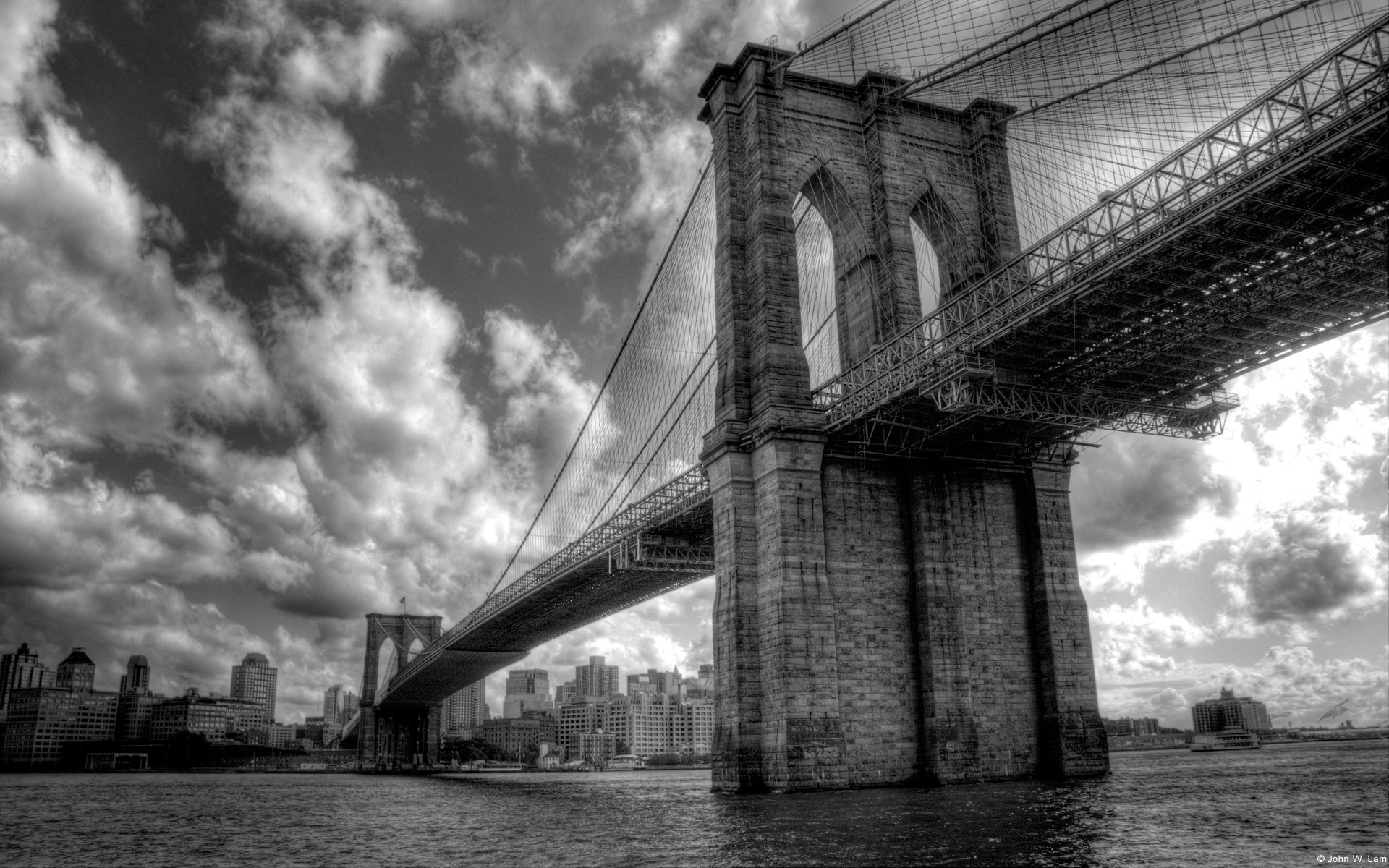 Brooklyn Bridge Wallpaper Courtesy Of Microsoft