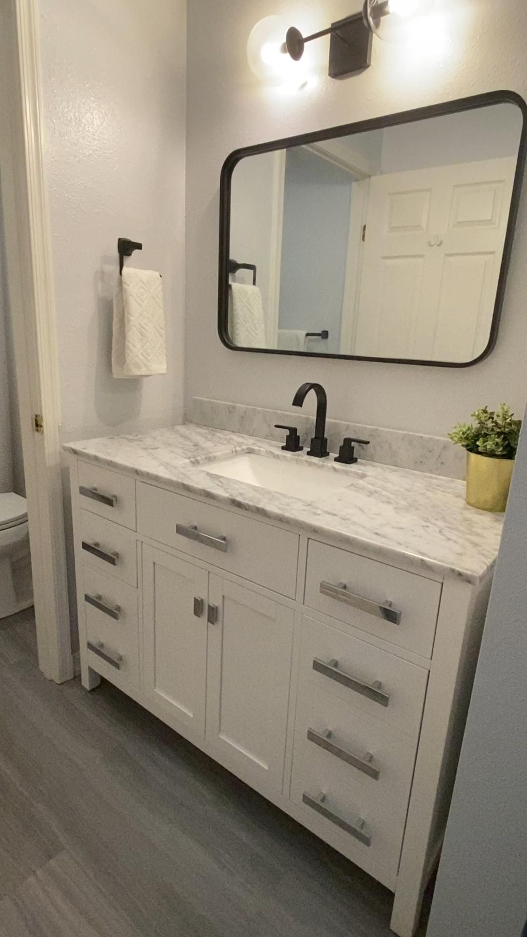 Photo of Beginner's Guide: DIY Bathroom Remodel