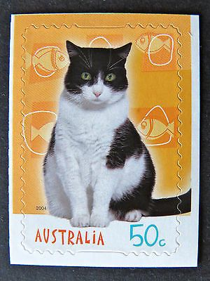 Australian Decimal Stamps: 2004 Cats & Dogs Stamp Collecting Mnth-Single P&S MNH