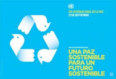 Fotos una paz sostenible por un futuro sostenible lema del for El jardin olvidado epub