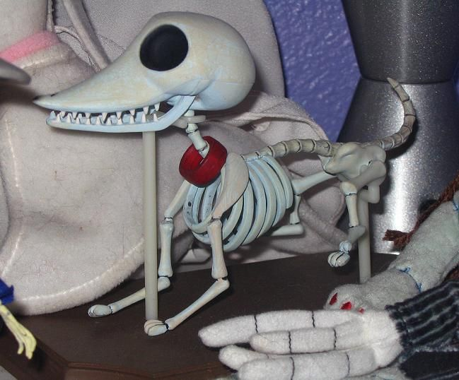 This Is Scraps Victors Skeleton Dog From My Jun Planning Corpse