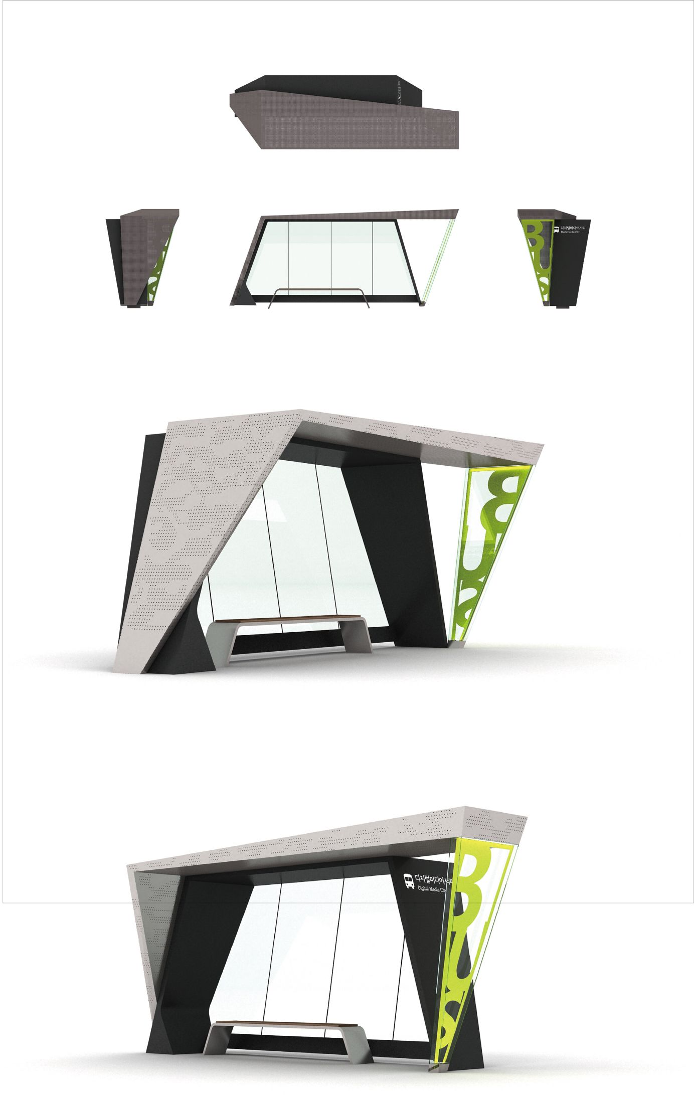 the urban furnishing by calzolari design by mdu architetti urban environmental design bus stop