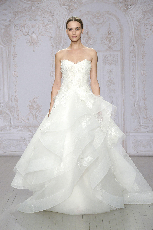 Hazel (Vestido de Novia). Diseñador: Monique Lhuillier. ... | Платье ...