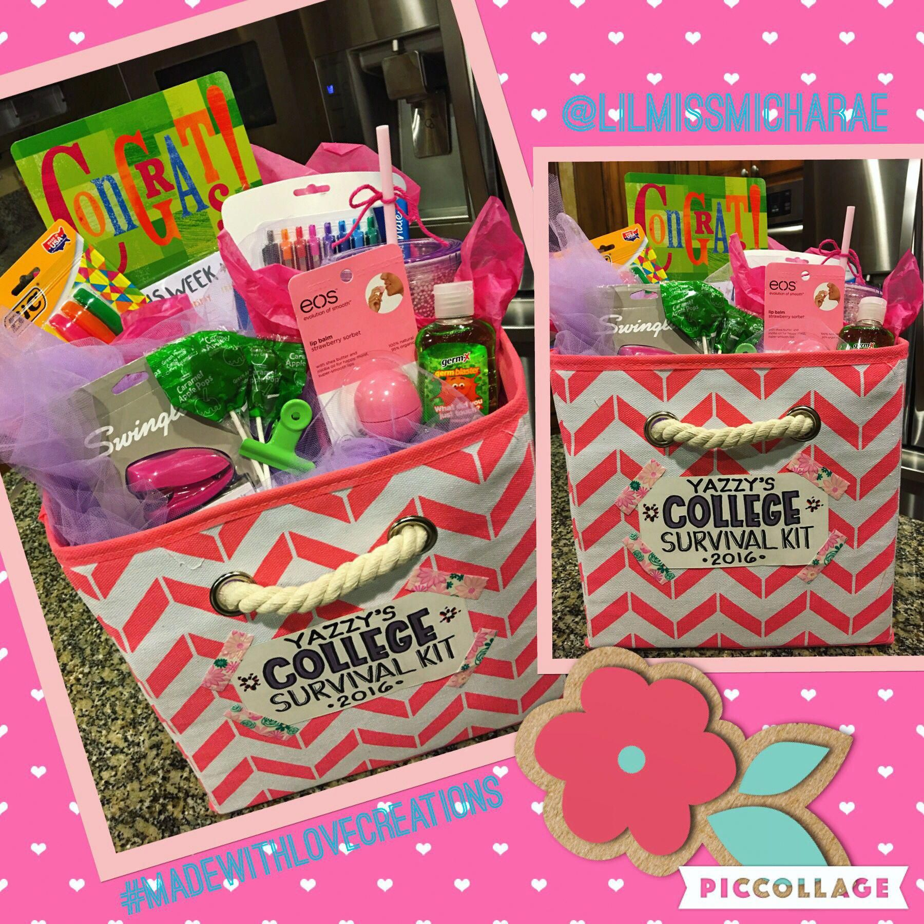 birthday gift baskets for college girl
