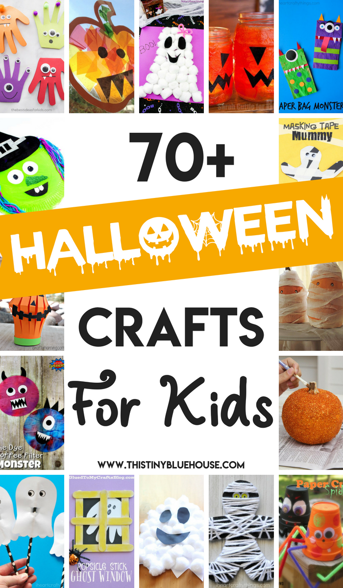 70 Spooky Halloween Crafts For Kids 2 Year Olds And Up