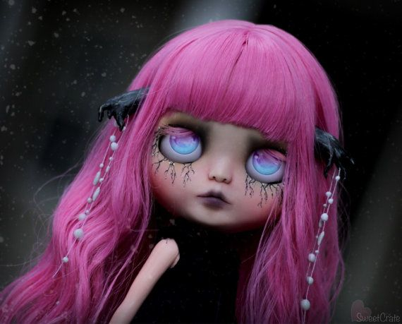 RESERVED for V.  Persephone  Custom Blythe Doll by by SweetCrate