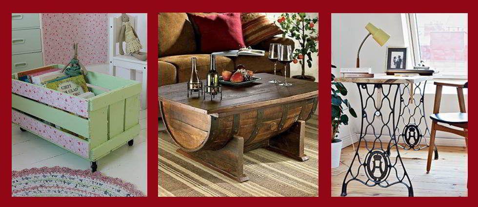 Ideas para hacer muebles reciclados a partir de objetos - Ideas para restaurar muebles ...