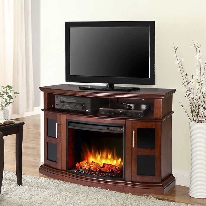 Pleasant Hearth Rochester Media Electric Fireplace Electric