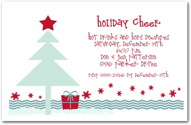 Blue Christmas Tree Blue christmas, Christmas invitations and