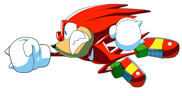 Knuckles Punch Vector By Mayandkirby On Deviantart Classic Sonic Kawaii Anime Echidna
