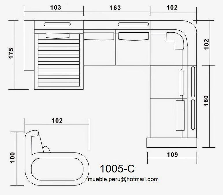Mueble per dise os fabricados a medida contacto mueble for Medidas estandar de cajones de cocina