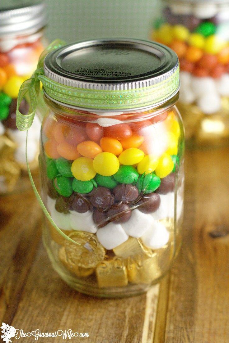 Mason Jar Party Decoration Ideas Rainbow Mason Jar Treats  Rainbow Parties Favors And Jar