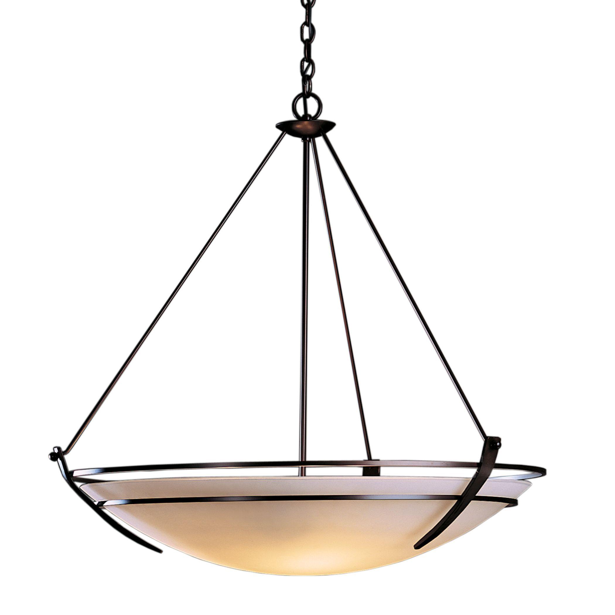 Hubbardton Forge Glass Shades: Presidio Tryne Large Scale Pendant