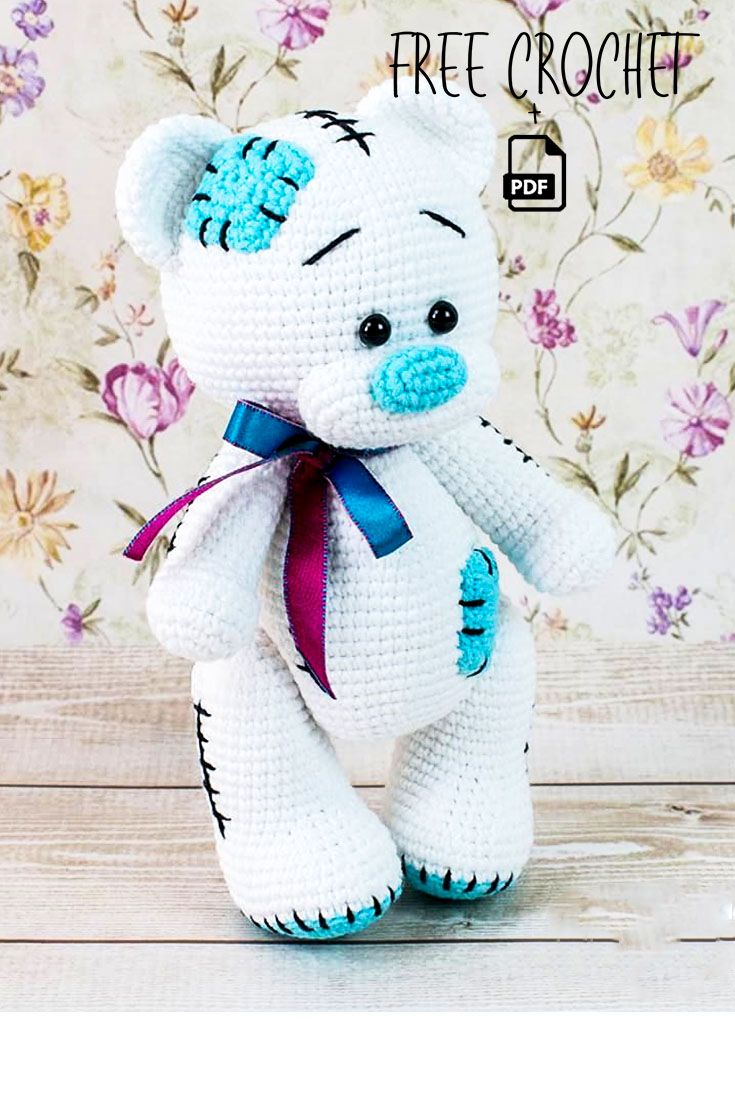 Free Teddy Bear crochet pattern- 2020 - crochetsample. com
