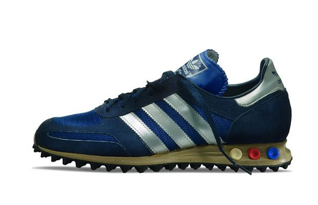 Trainer, Year Introduced: One of the few adidas releases to feature  adjustable peg cushioning, the L. Trainer was released to coincide with the  1984 Olympic ...