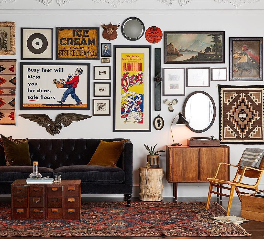 Exclusive debut introducing vintage art u wall decor from