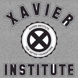 Xavier's Institute Gris Talla M - LIBRERIA TAJ MAHAL COMICS