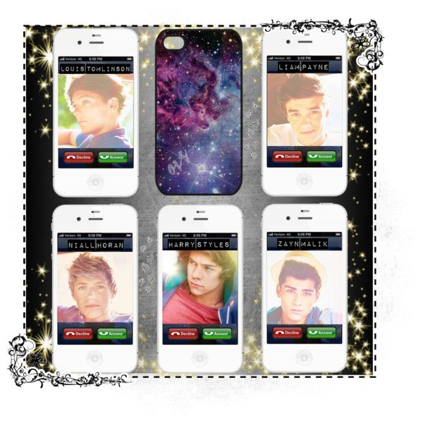 """""""Would You Pick Up?"""" by forever-infinite ❤ liked on Polyvore"""