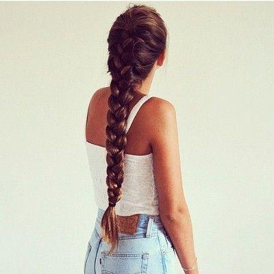 long braids <3