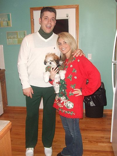 ugly christmas sweater partyha ha its cousin eddies christmas vacation outfitawesome