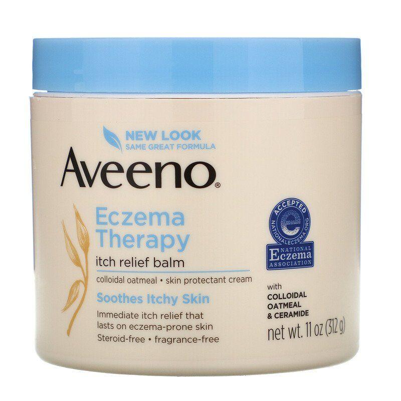 Aveeno Eczema Therapy Itch Relief Balm 11 Oz 312 G Soothe Itchy Skin Eczema The Balm