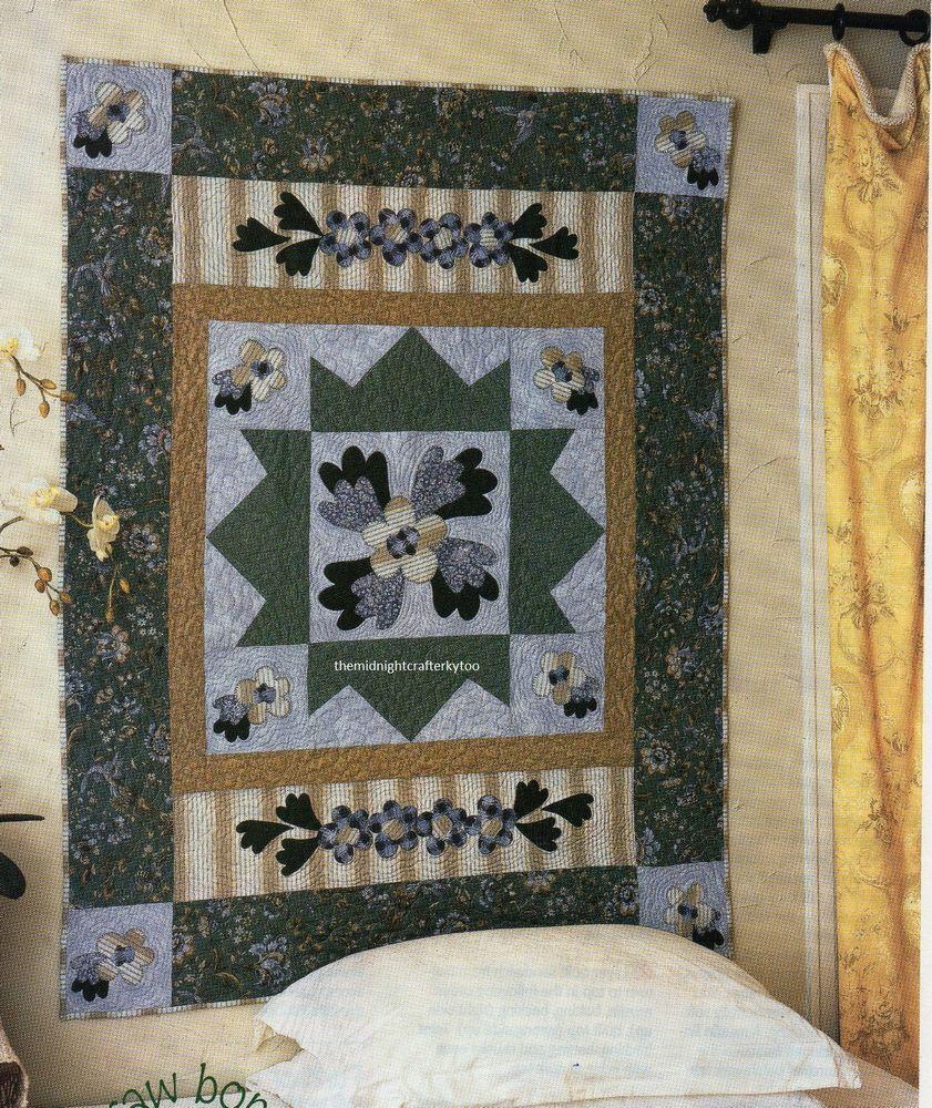 Aberdeen Quilt Pattern Pieced/Applique RT | Floral Quilts ...