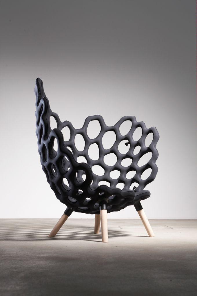 Studio Hausen // Textile Moulded Chair