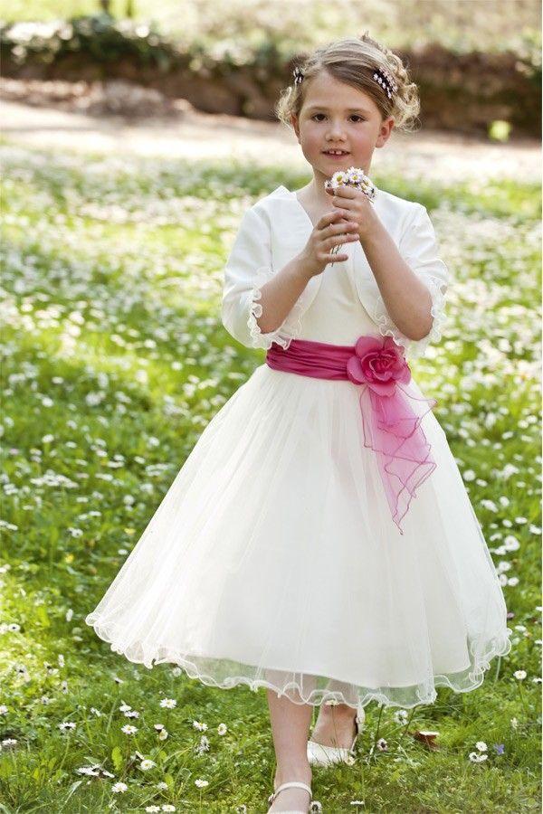 Robe de mariage pour fillette for Fille fleur robes mariage