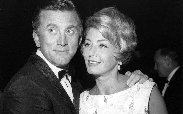 Image result for kirk douglas and anne buydens