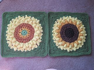 SunFlower Too by Julie Yeager ~ free pattern