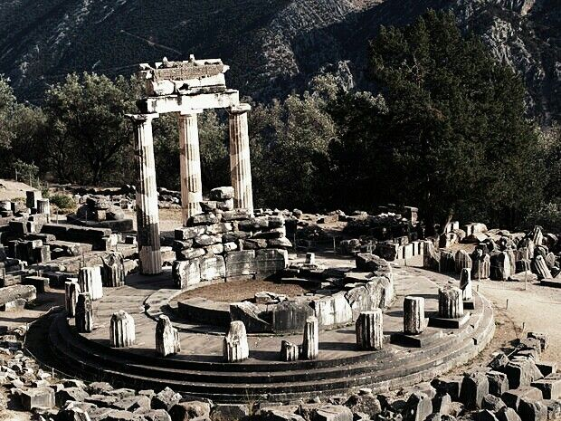 Go to Greece; visit the oracle of Delphi