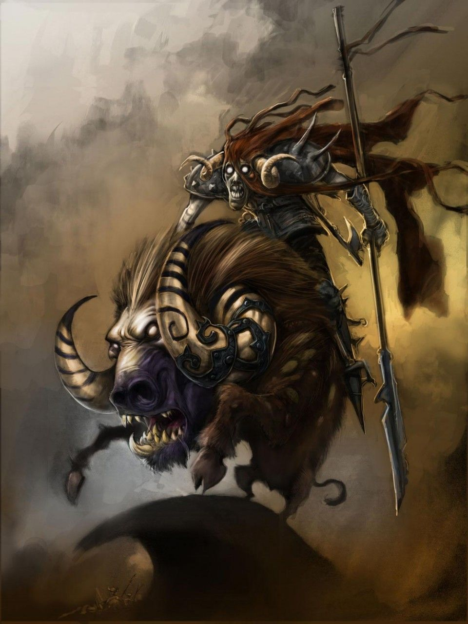 Demon On Devil Boar