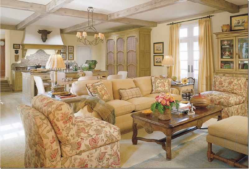 Charles Faudree French Country Decorating: Places And Spaces