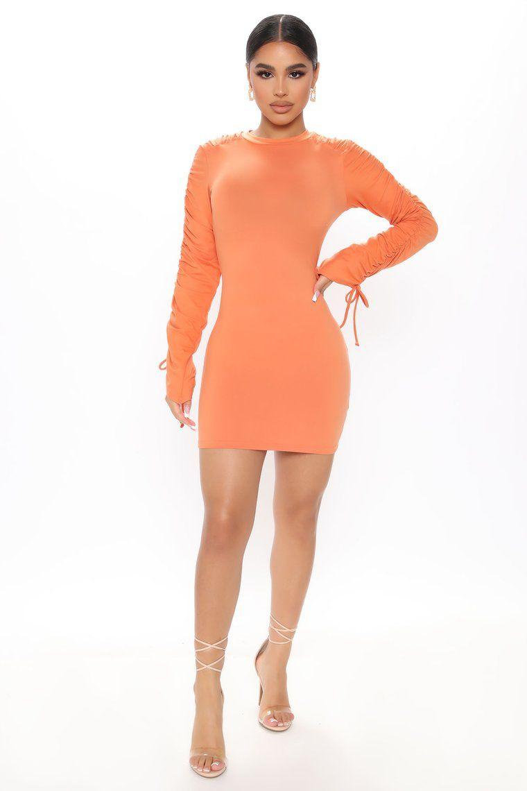 Broken Promises Mini Dress Orange In 2021 Mini Dress Party Dress Classy Fashion [ 1140 x 760 Pixel ]