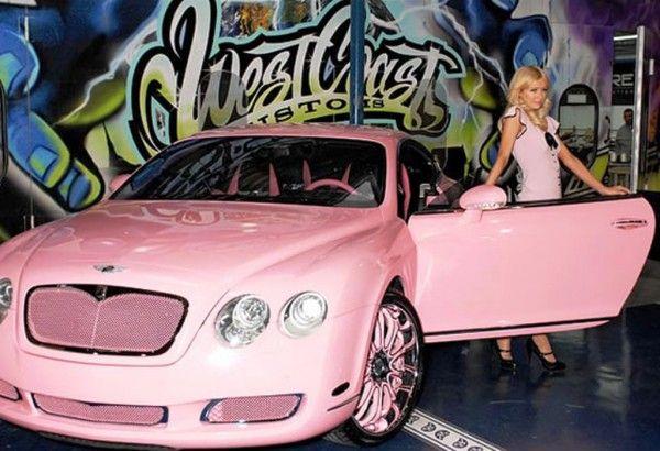 Do You Know Paris Hilton Owns 5.000 dollars Bentley GT Continental http://shar.es/R00cd