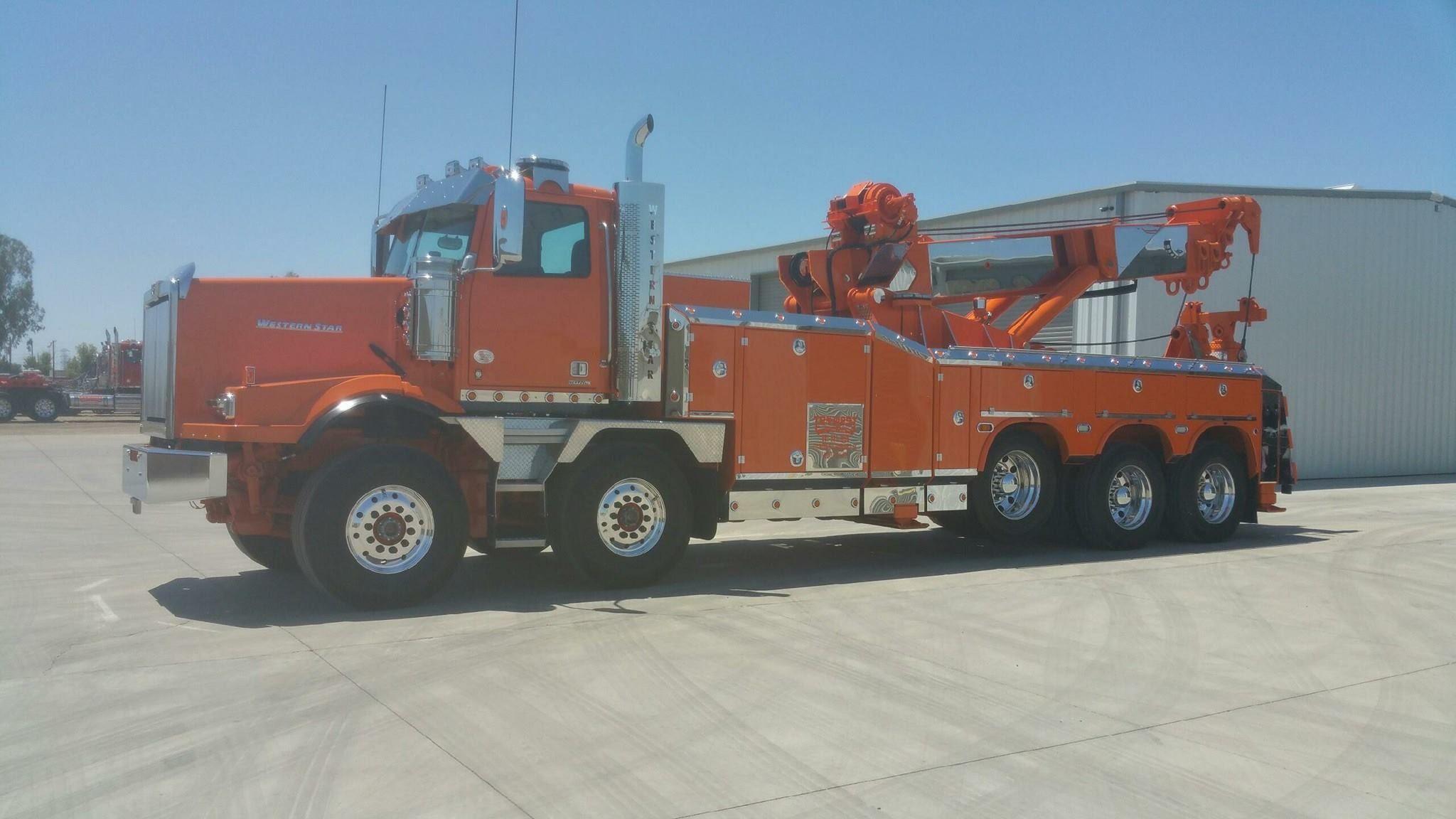 TenWest Towing, Bakersfield CA Western Star Twin Steer