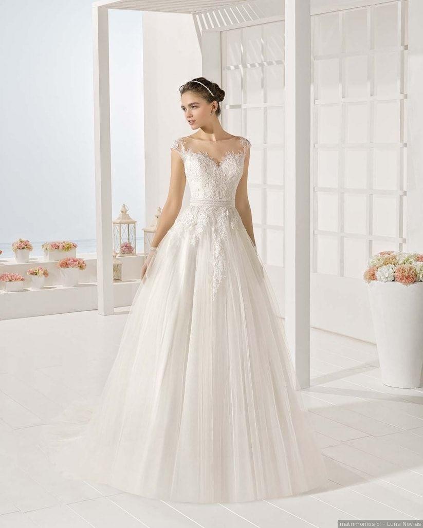 e97ae9d2a Vestidos de novia princesa. ¡Consigue un look dulce y romántico para tu  matrimonio!