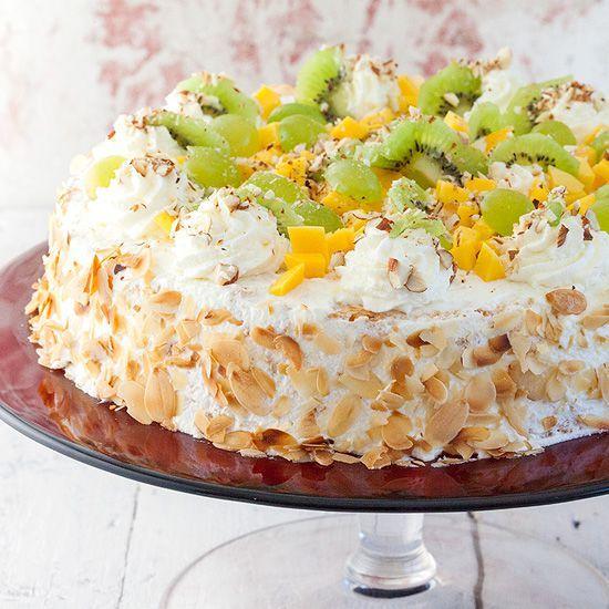 Slagroomtaart A.k.a. Dutch Whipped Cream Pie Is A Simple