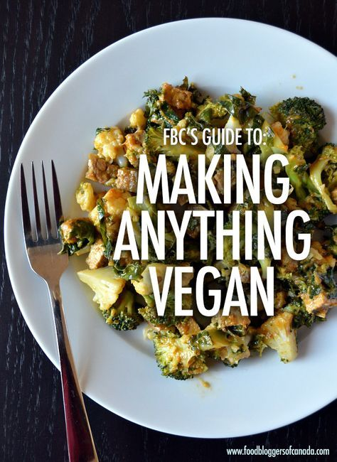 The Fbc Guide To How To Make Anything Vegan Food Vegan