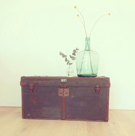 Vintage 1950s box  chest by LeFlair on Etsy, €135.00