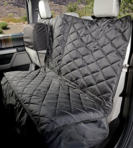 Amazon Com 4knines Crew Cab Rear Bench Seat Cover With Hammock Heavy Duty Waterproof Black Pet Supplie Bench Seat Covers Truck Seat Covers Seat Cover