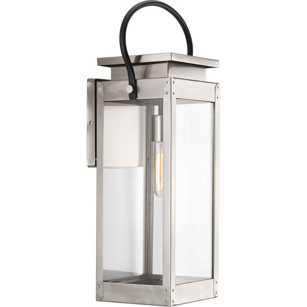 Union Square Collection 1 -Light Outdoor Stainless Steel Sconce