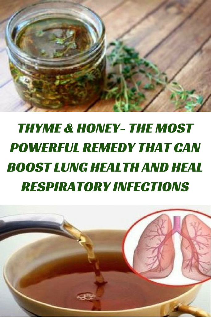Thyme honey the most powerful remedy that can boost lung health thyme honey the most powerful remedy that can boost lung health and heal respiratory forumfinder Gallery