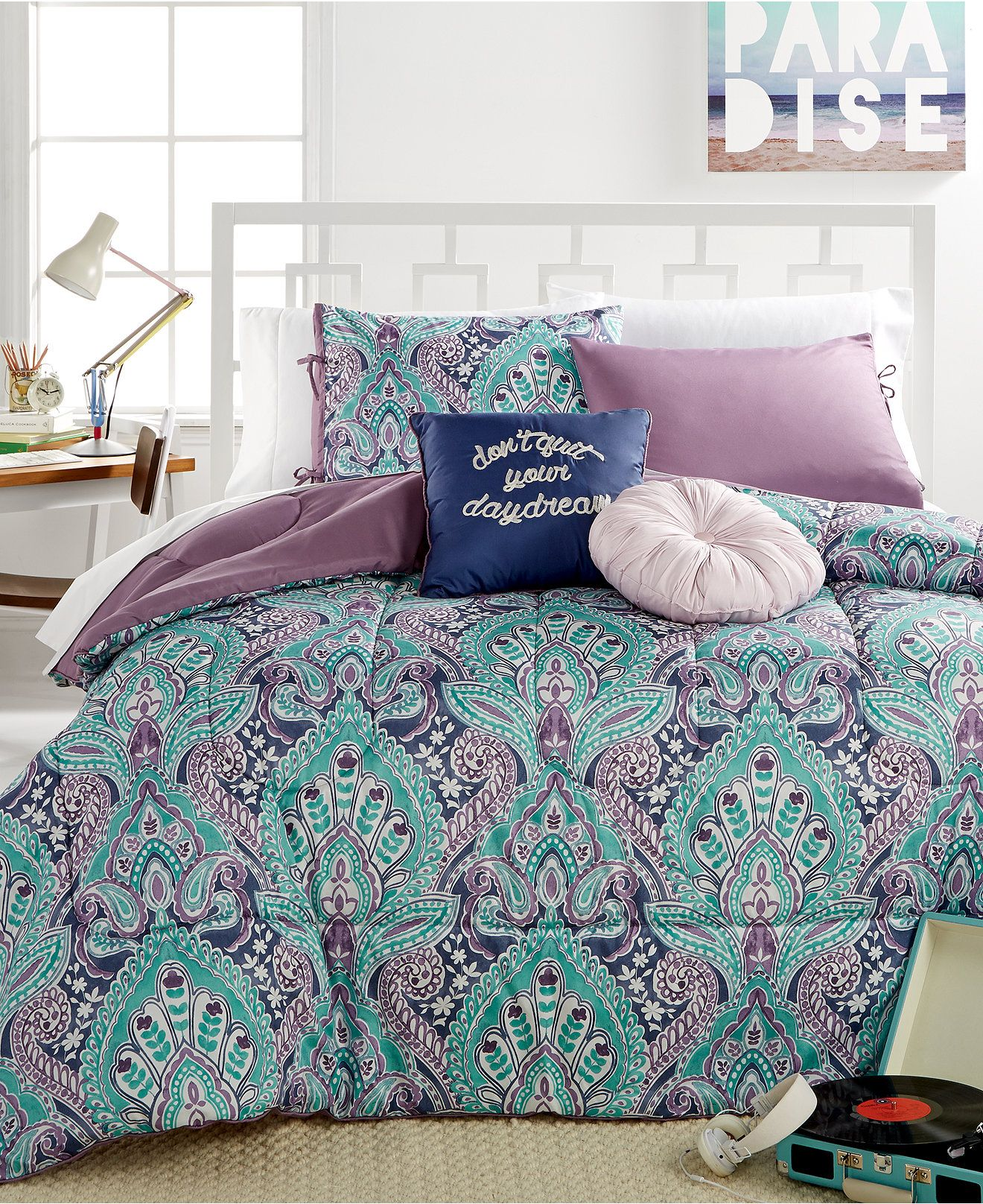 ava blossom 5-pc. comforter sets - bed in a bag - bed & bath