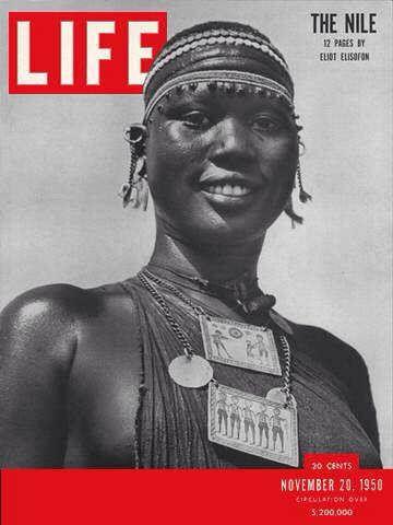 Shilluk Girl On Life Magazine Cover Life Magazine Life Magazine