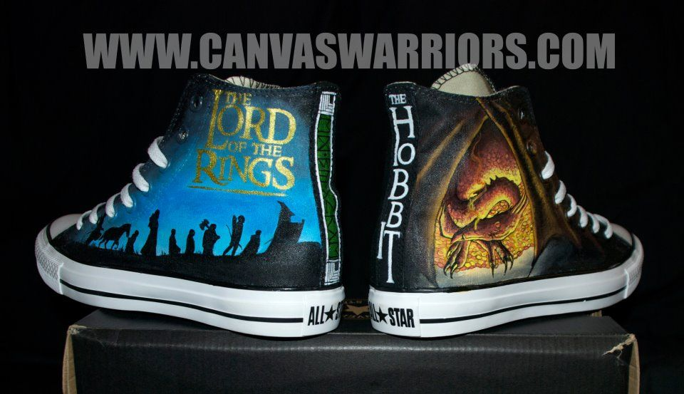 Cool shoes by canvaswarriors.com. Need