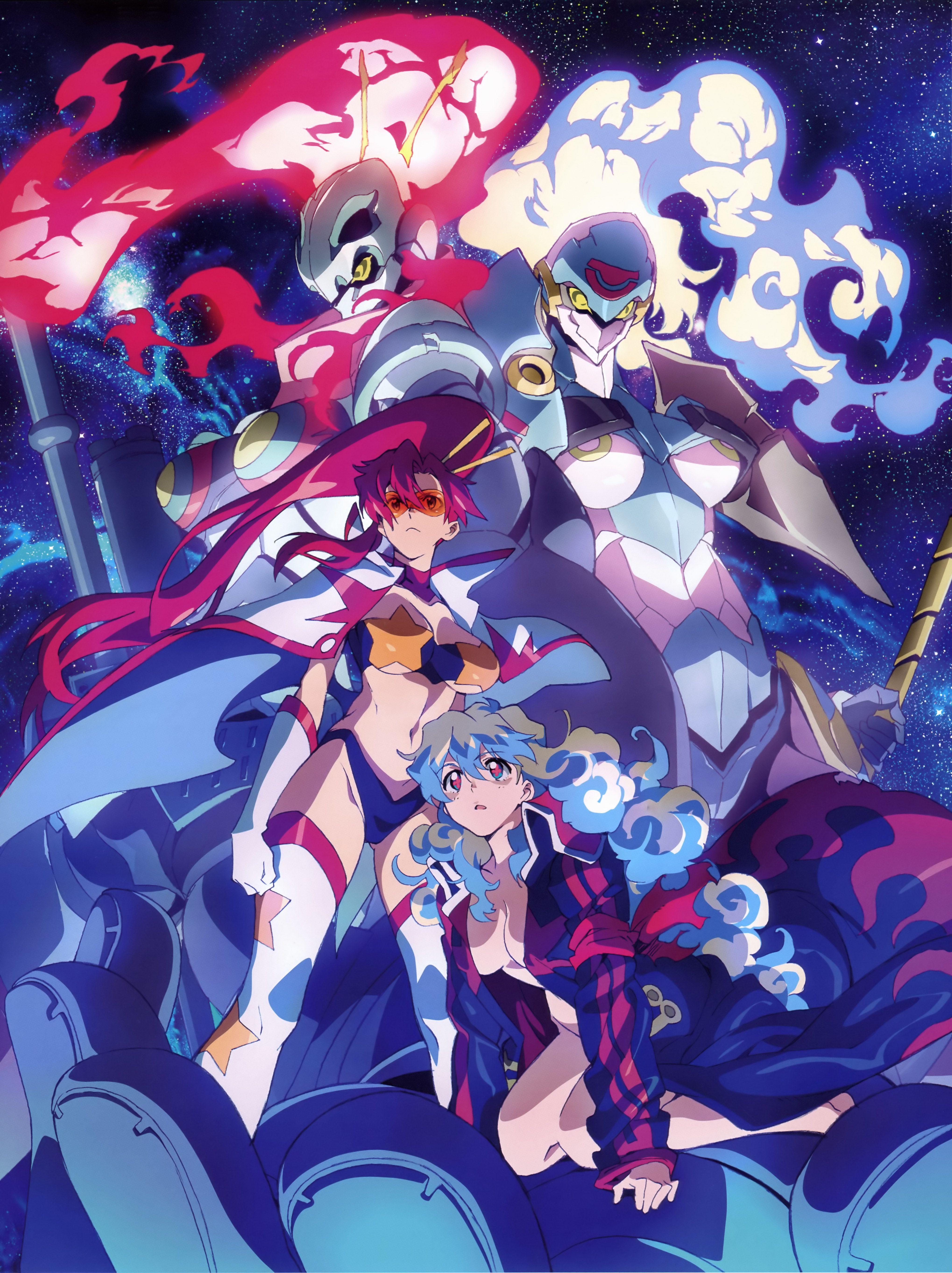 Tengen Toppa Gurren Lagann Anime HD Print Wall Poster Scroll Home Decor Cosplay