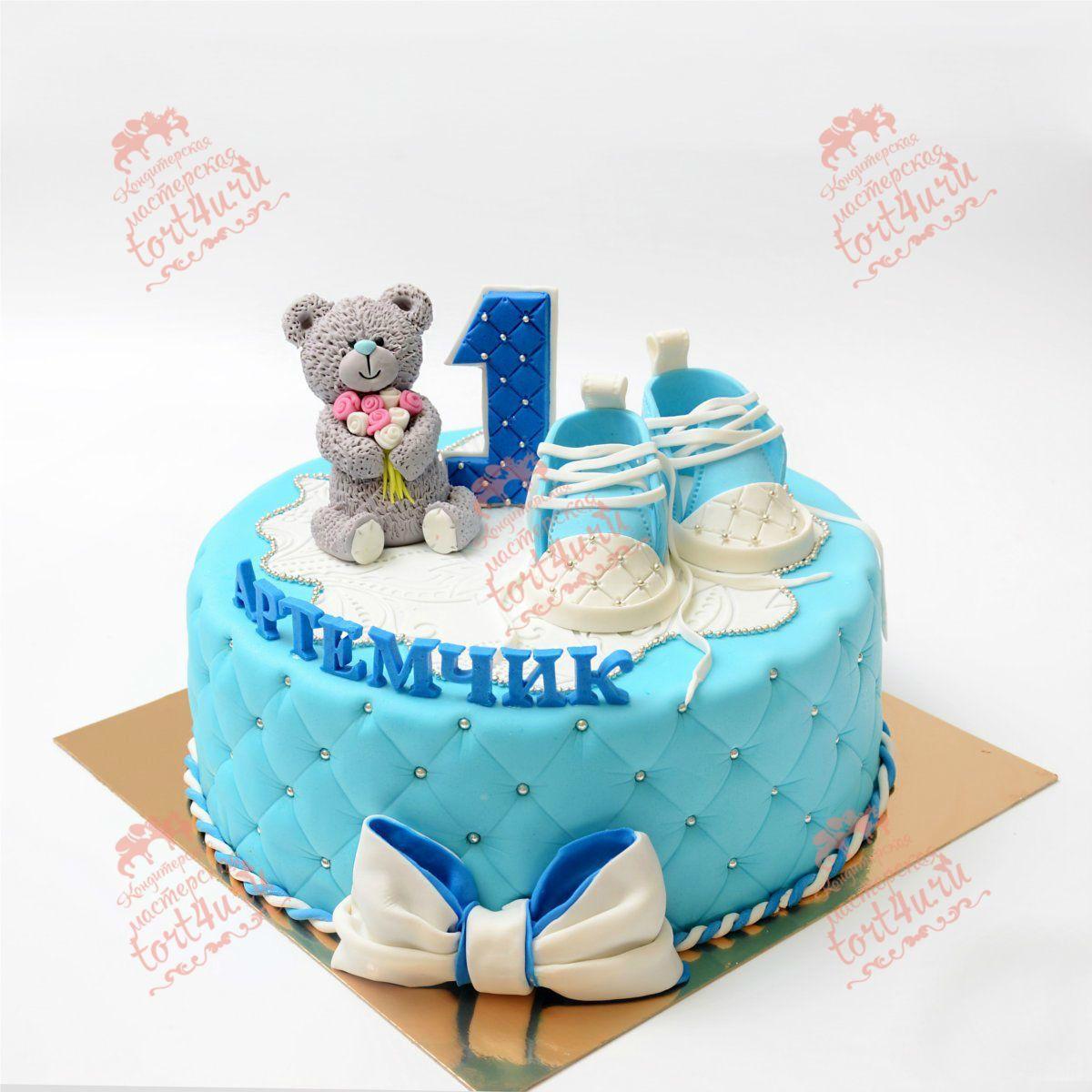 Фото торта на 1 год ребенку мальчику