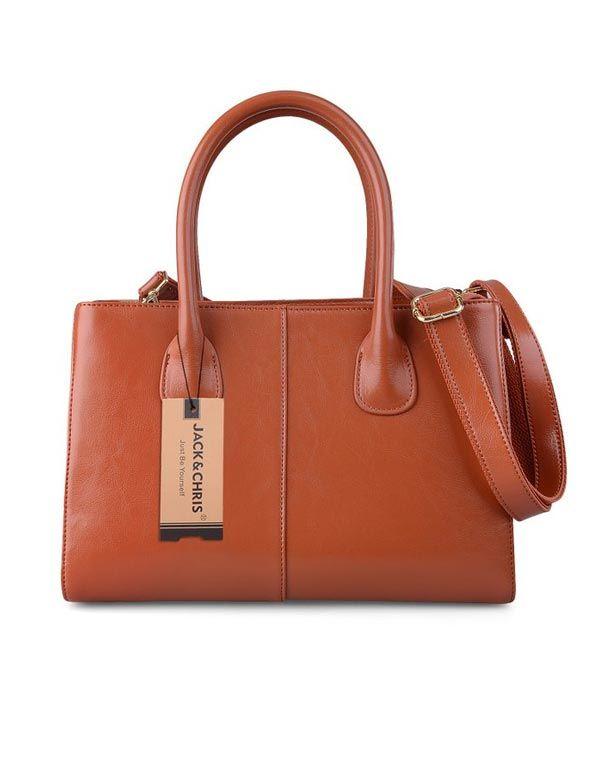 Classic Brown Satchel Bag 79